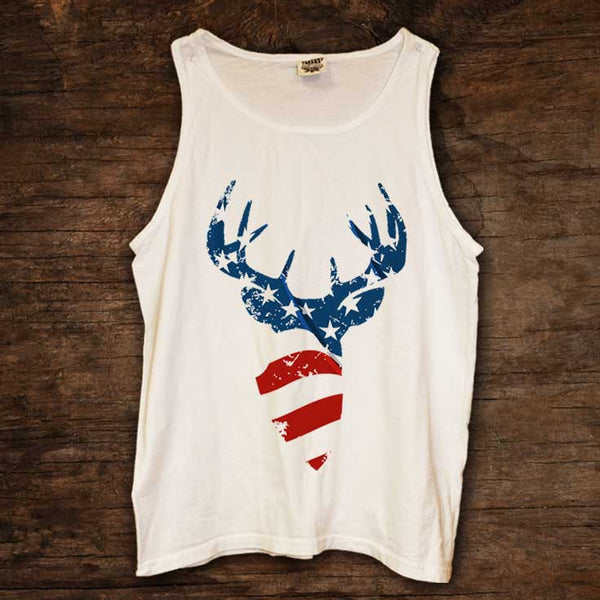 American Flag Buck Tank (sizes run big)