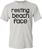 Resting Beach Face T-Shirt