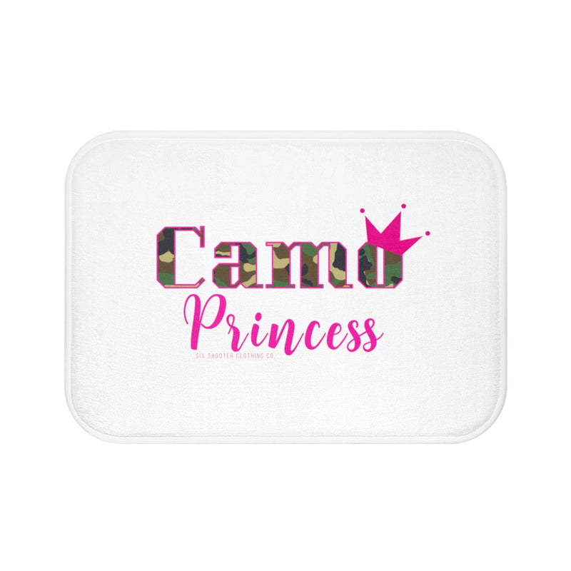 Camo Princess Bath Mat