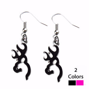 Browning Earrings (BLACK ONLY)