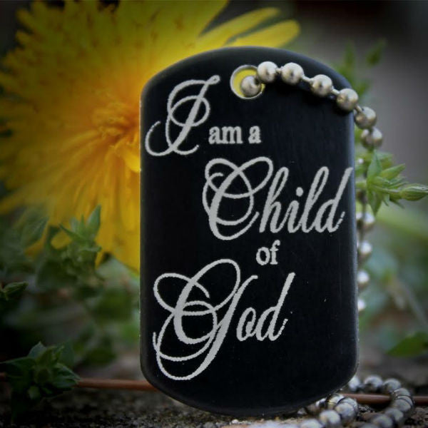 Child of God Dog Tag