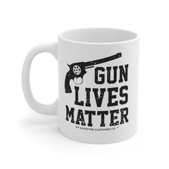 Gun Lives Matter Second Amendment Coffee Mug