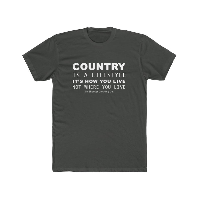 Men's Country Is A Lifestyle Tee