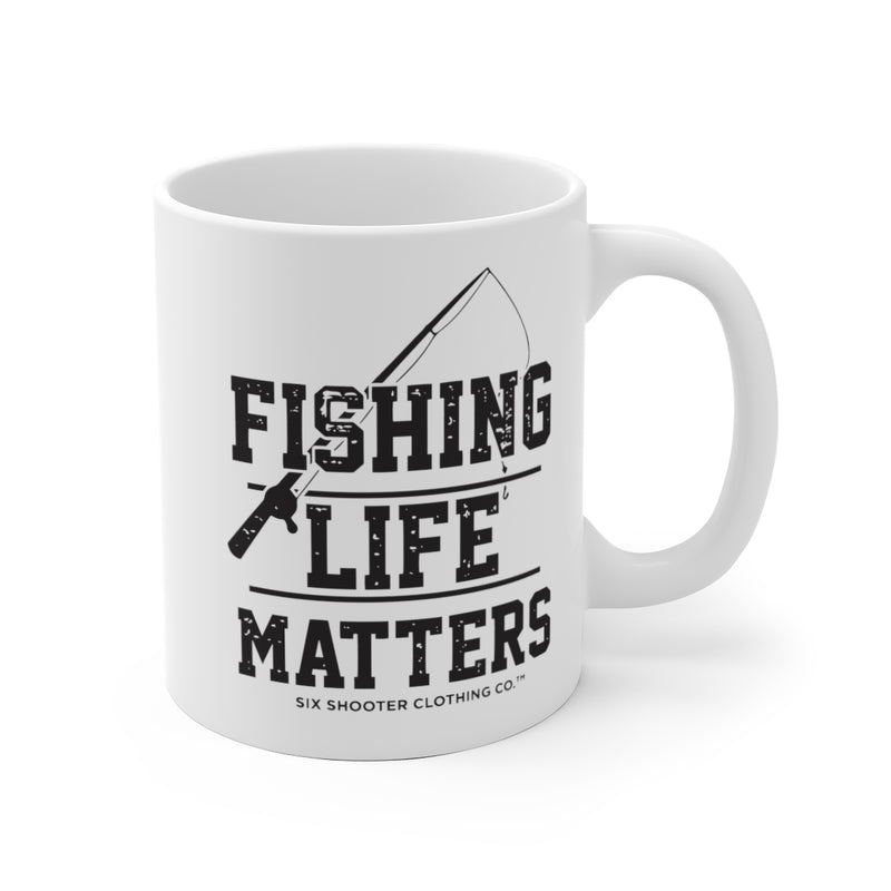 Fishing Life Matters Coffee Mug