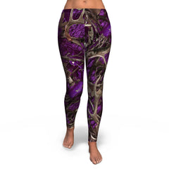 Camo & Country Women's Purple Camo Full Length Leggings