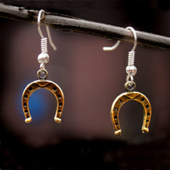Horse Shoe Earrings