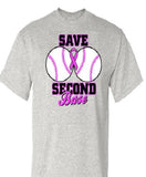 Save Second Base T Shirt
