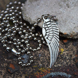 Wing Necklace, Free Earrings