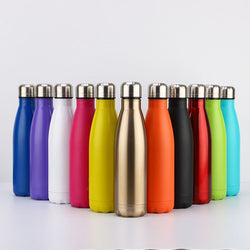 Vacuum Insulated Metal Water Bottle