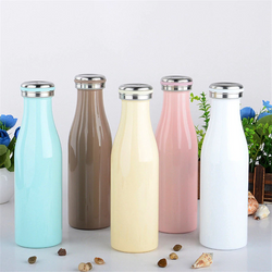 Double Wall Stainless Steel Insulated Water Bottle