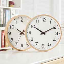 Sleek Wooden Wall Clock