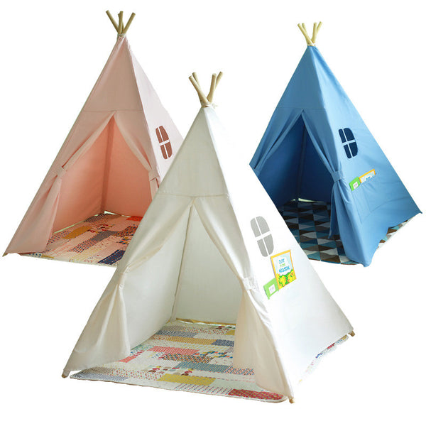 Childrens Teepee Playhouse - 3 Colours