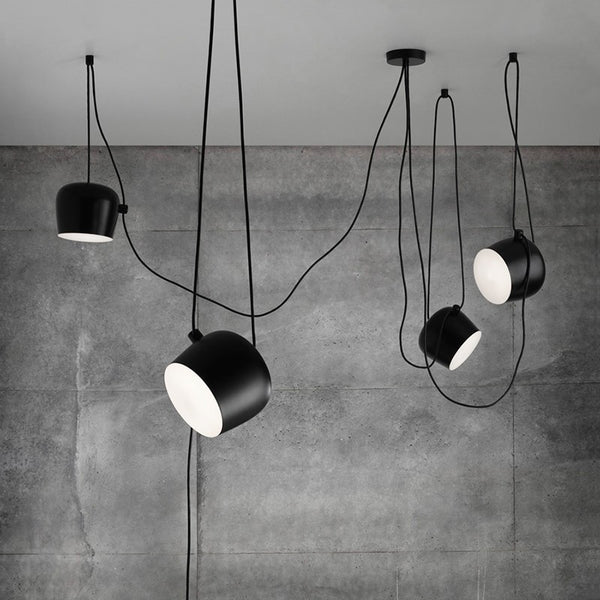 Flos AIM Suspension Replica Designed By Ronan And Erwan Bouroullec In Multiple Sizes, Colours