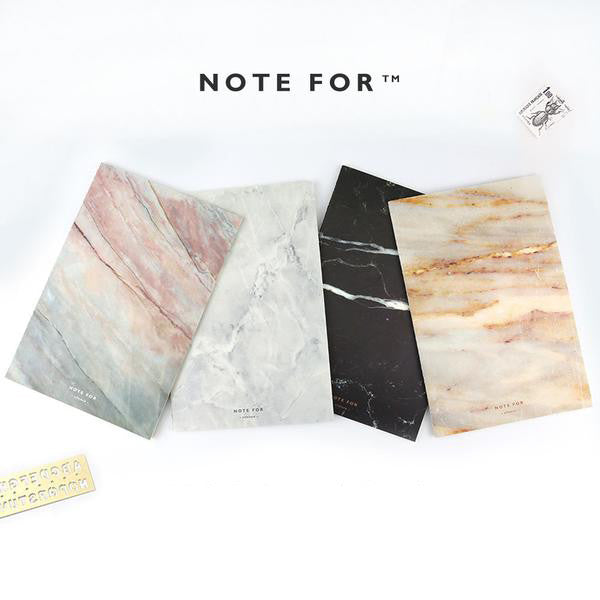 Japanese Marble Design Notebook - Soft Cover - Axel & Jones