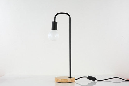 Modern Nordic Iron Desk Lamp in Black - Axel & Jones