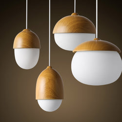 Nordic Wooden Pendant Lights - 4 Styles - Axel & Jones