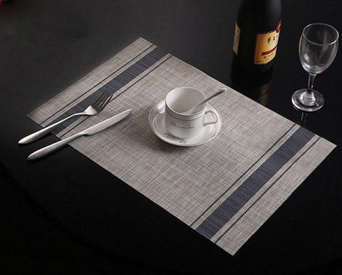 Stylish Placemats In 4 Colours