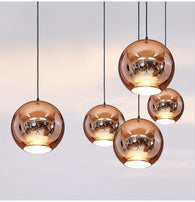 Tom Dixon Copper Pendant Replica - Copper - Axel & Jones
