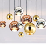 Tom Dixon Copper Pendant Replica - Gold - Axel & Jones