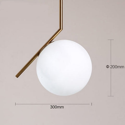 Replica IC S Pendant Light by Michael Anastassiades for FLOS