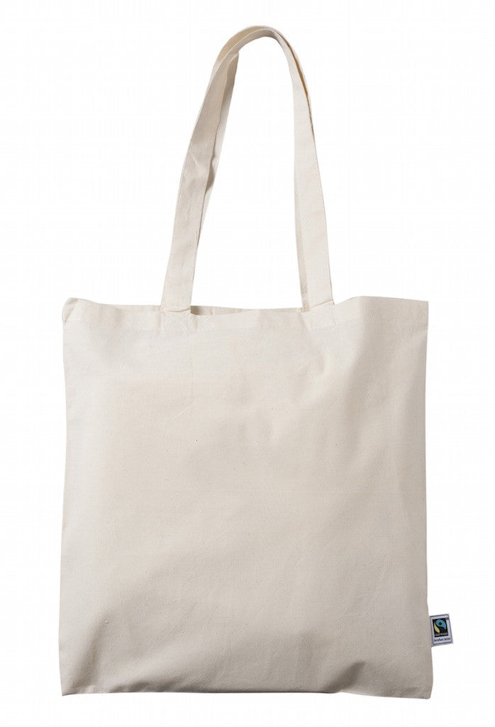 fair trade cotton - simple shoulder bag