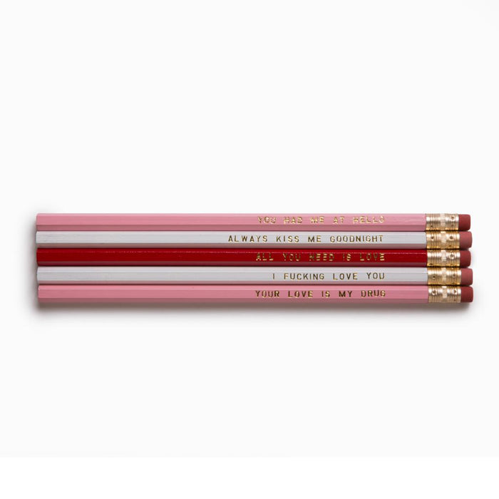 Love Pencil Set