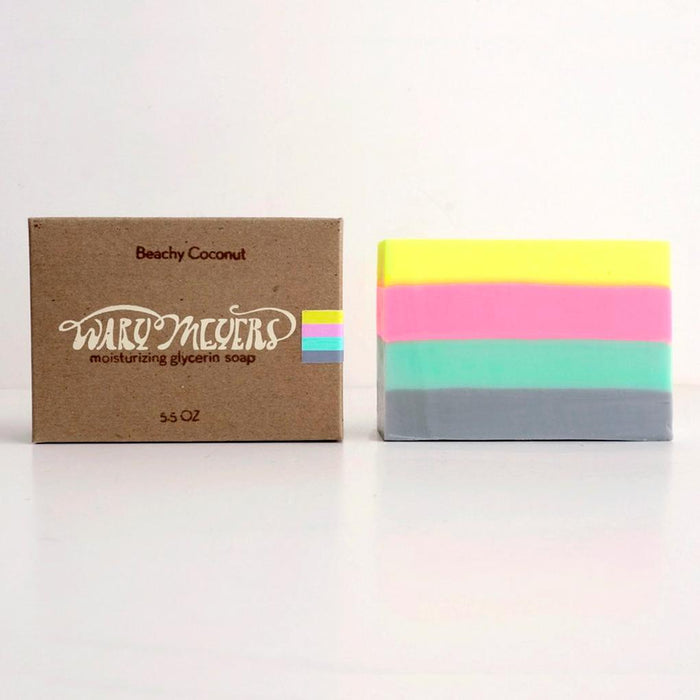 Beachy Coconut Soap Bar