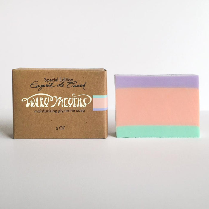 Esprit de Peach Soap Bar