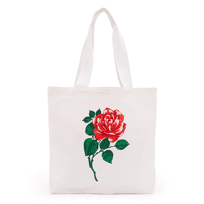 Will You Accept This Rose? Big Canvas Tote