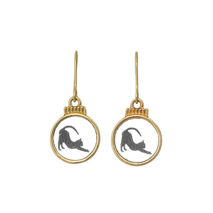 Cat Silhouette Earrings