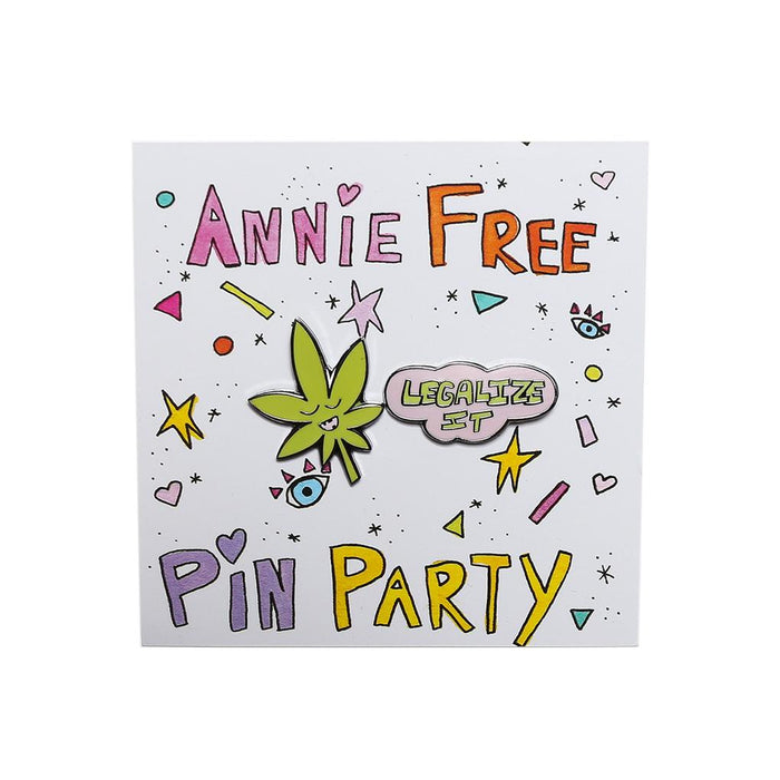 Legalize It Pin Set