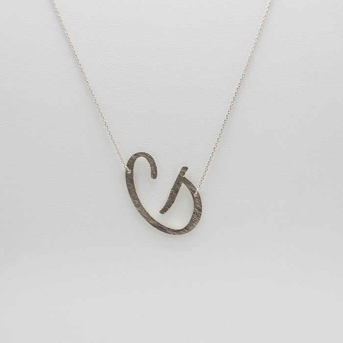 G Pendant Necklace