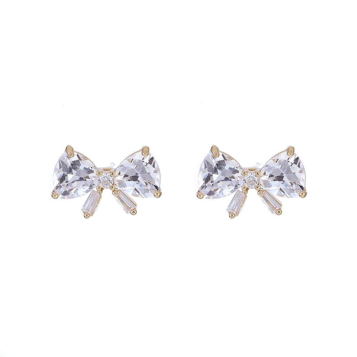 Diamond  Bow Stud