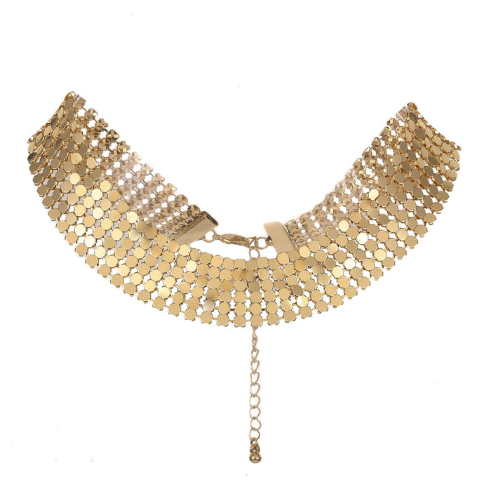 Flashy Choker Necklace