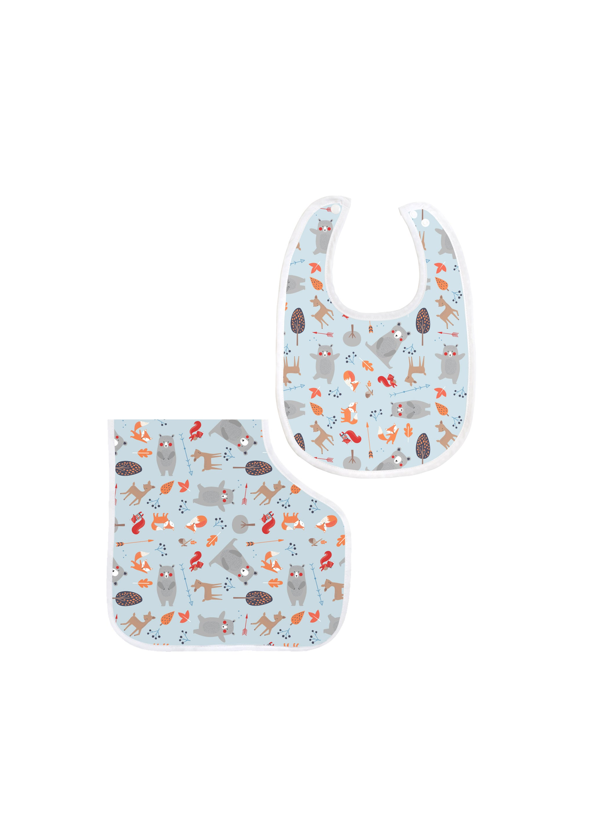 Bamboo Bib and Burp Cloths Sets