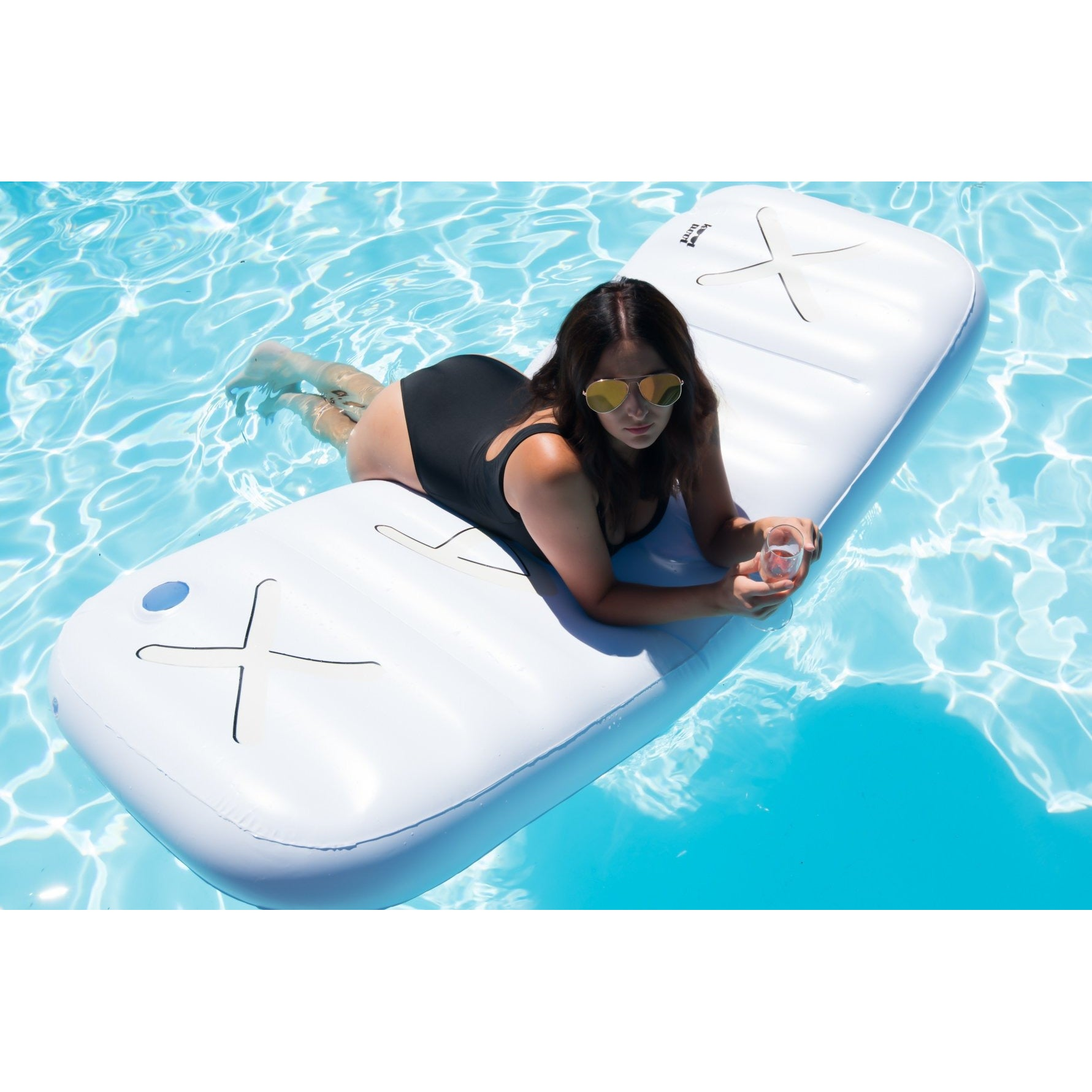 The Chill Pill Inflatable Xanax Bar Pool Float Mattress – Kool Pool