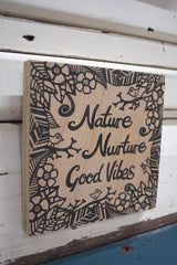 Nature & Nurture Ply Print - Natural