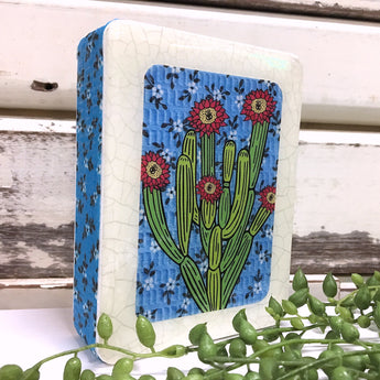 Mini Woodblock - Organ Pipe Cactus