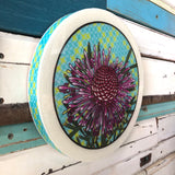 Roundy Woodblock - Rose Coneflower