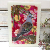 Medi Woodblock - Top Notch Pigeon