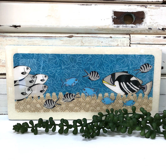 Pano Woodblock - Reef Life