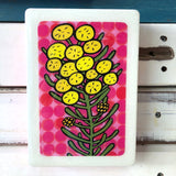 Medi Woodblock - Wattle