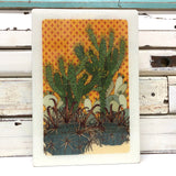 Maxi Woodblock - Prickle Patch