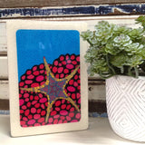 Medi Woodblock - Iconic Starfish
