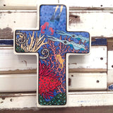 Coral Reef Cross - Large