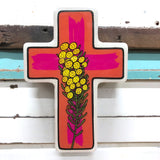 Wattle Pop Cross - Small