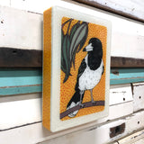 Medi Woodblock - Butcher Bird