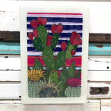 Maxi Woodblock - Cactus Patch