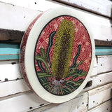 Roundy Woodblock - Candlestick Banksia