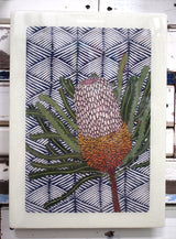 XL Woodblock - Banksia Hookeriana